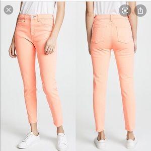 Rag and bone prairie sun high rise skinny jeans
